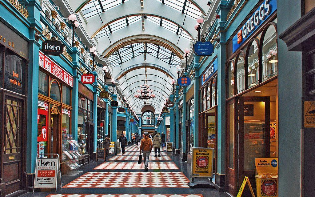 Great Western Arcade- Birmingham