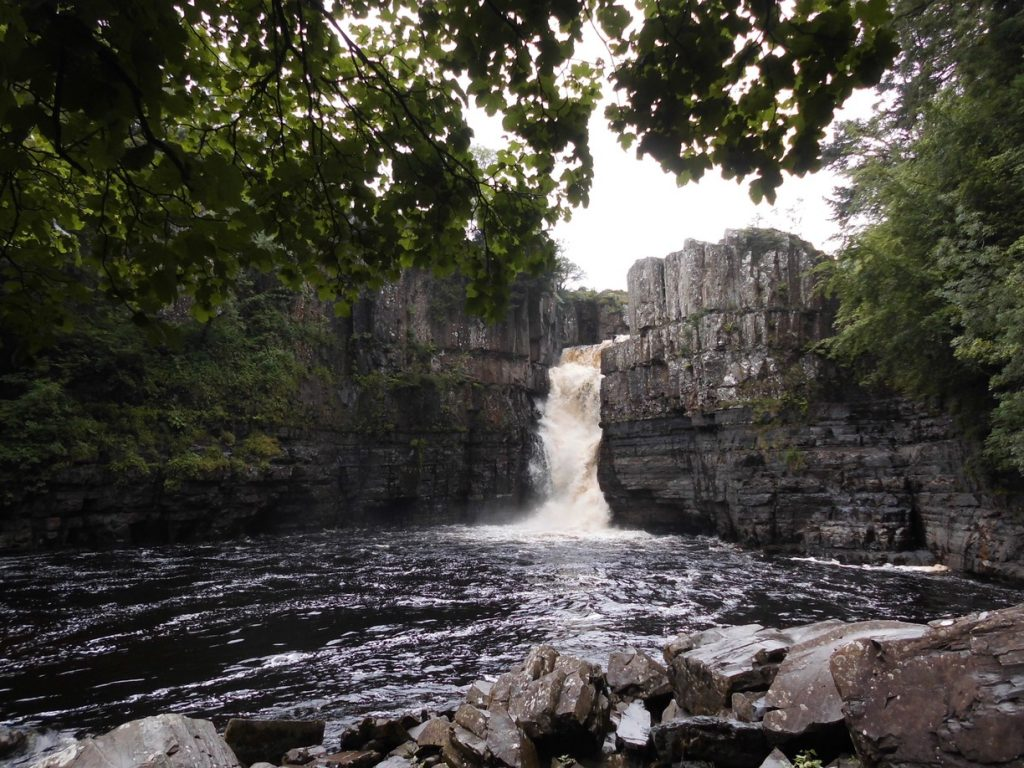 Durham Dales, High Force Waterfall – England Birmingham-Taxi