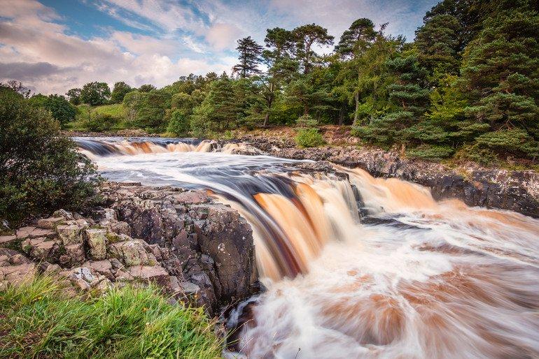Low Force Waterfall, County Durham- Birmingham Taxi