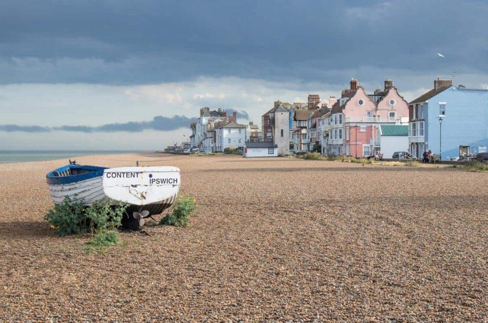 Aldeburgh Beach - Birmingham taxi