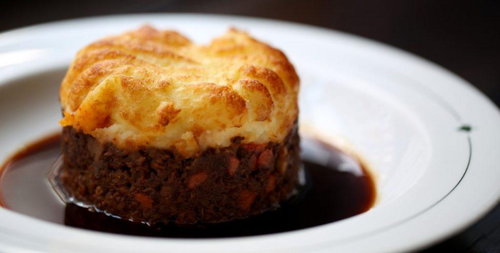 Shepherd's Pie at The Ivy Restaurant - Birmingham Taxi